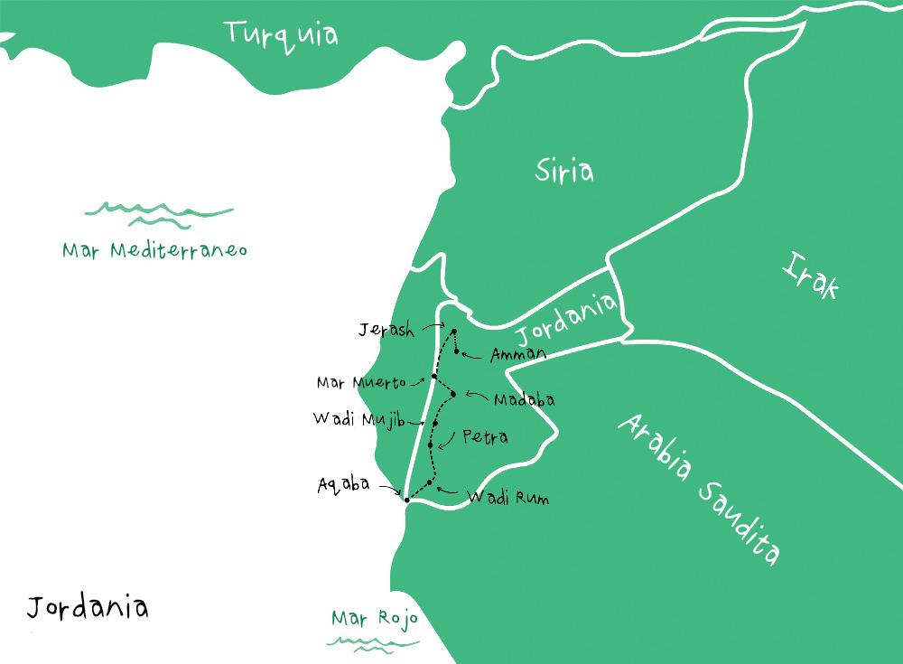 Ruta Jordania