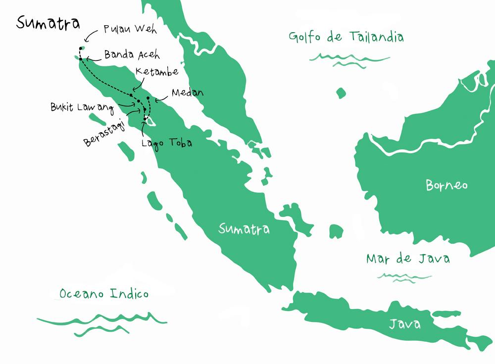 Ruta Sumatra