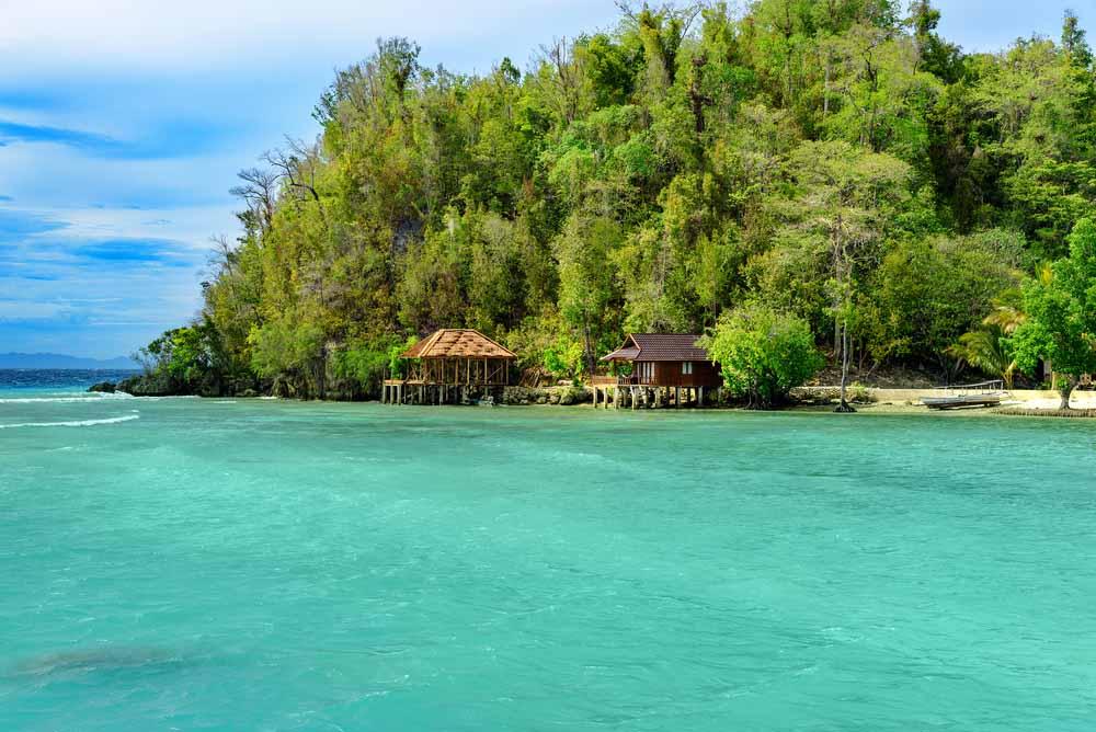 las islas de togian